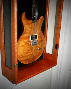 Paul Reed Smith's second Maple Guitar, owned by Heart Guitarist Howard Leese and loaned to Carlos Santana to record Zebod in '81.