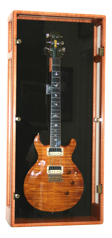 Paul Reed Smith First Maple Guitar. Heart Guitarist Howard Leese dubbed it The Golden Eagle.